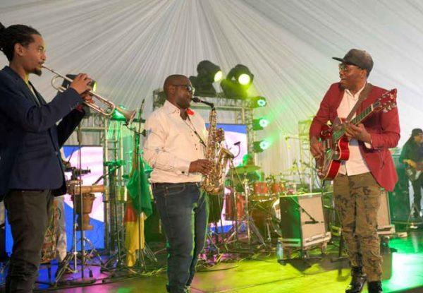 Jazz Musicians at the Glenlivet Jazztown Jazz Singer at the Glenlivet Jazztown at the Durban July