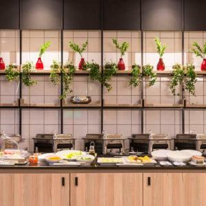 Onomo Hotel Durban Breakfast Buffet