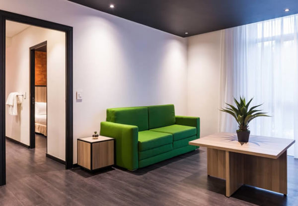 Onomo Hotel Durban Standard Room Lounge