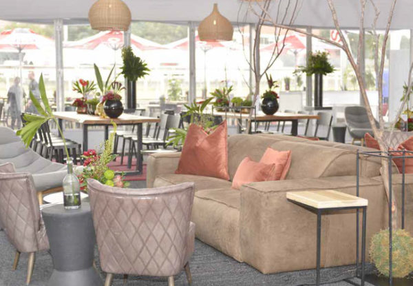 Pegasus Trackside Hospitality Luxury Lounge at the Durban July