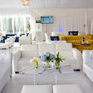 Pegasus Trackside Hospitality Standard Bank Lounge at the Durban July