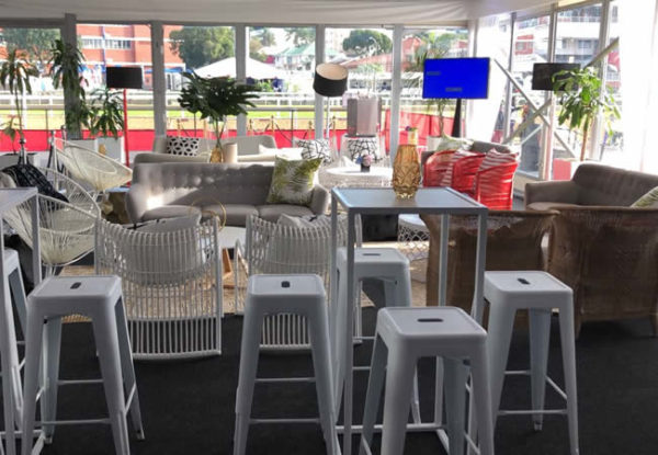 Pegasus Trackside Hospitality Lounge at the Durban July