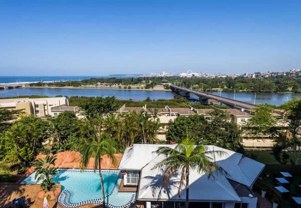 Riverside Hotel Aerial View