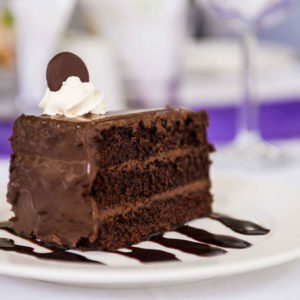 Riverside Hotel Delicious Chocolate Cake