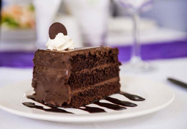 Riverside Hotel Delicious Chocolate Cake