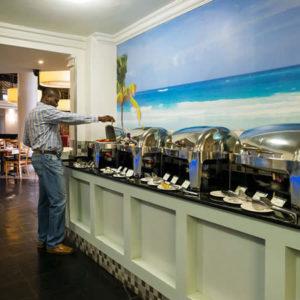 Riverside Hotel Buffet